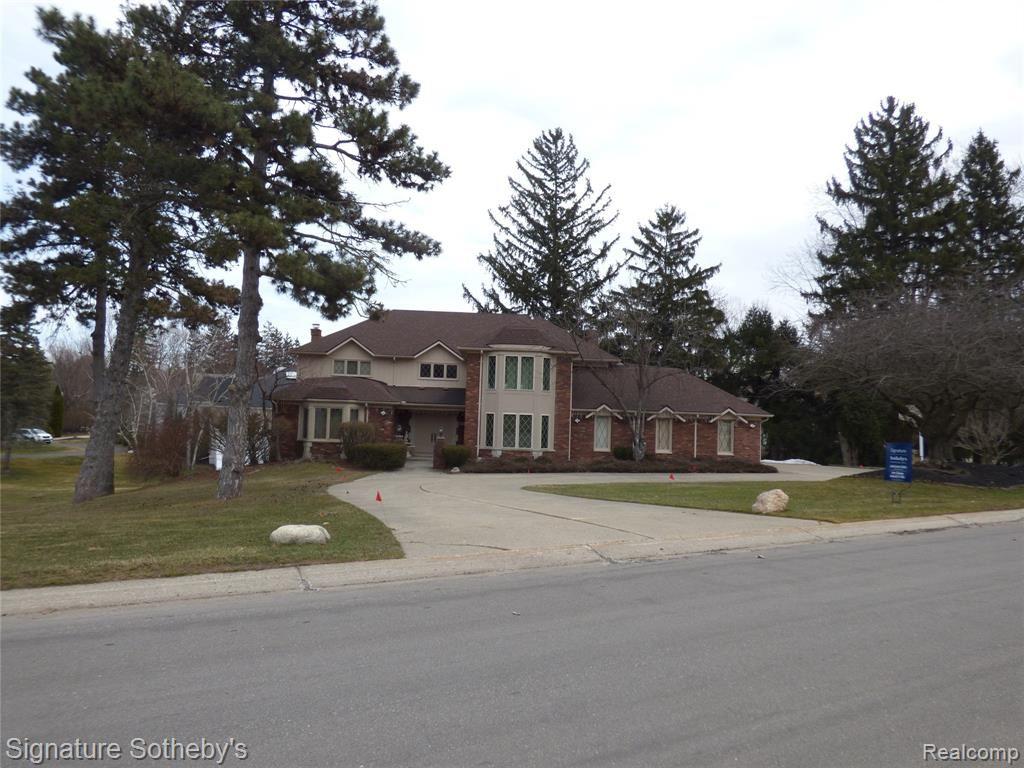 3551 WABEEK LAKE Drive E, Bloomfield Hills, MI 48302 - #: 2210017092