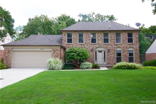 Photo of 443 TANGLEWOOD Drive, Rochester Hills, MI 48309 (MLS # 2200073102)