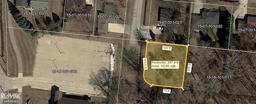 Photo of 0 COUNTY LINE, NEW BALTIMORE, MI 48047 (MLS # 58050004103)