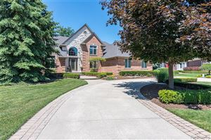Photo of 53987 TRENT RIVER Drive, Shelby Township, MI 48315 (MLS # 219071130)