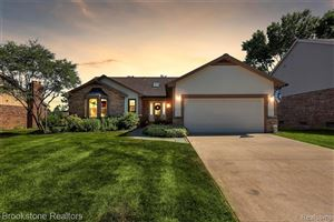 Photo of 2761 STEAMBOAT SPRINGS Drive, Rochester Hills, MI 48309 (MLS # 219068163)