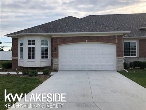 Photo of 49358 POND PLACE DRIVE, SHELBY Township, MI 48315 (MLS # 58050029187)