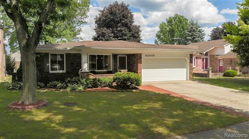Photo of 42446 SYCAMORE Drive, Sterling Heights, MI 48313 (MLS # 2200062209)