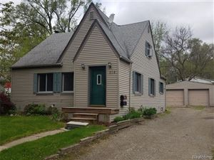 Photo of 614 QUARTER Street, Rochester, MI 48307 (MLS # 219041440)