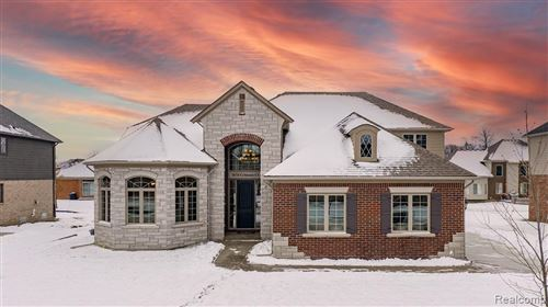 Photo of 7674 Crimson Court, Shelby Township, MI 48316 (MLS # 2210004513)