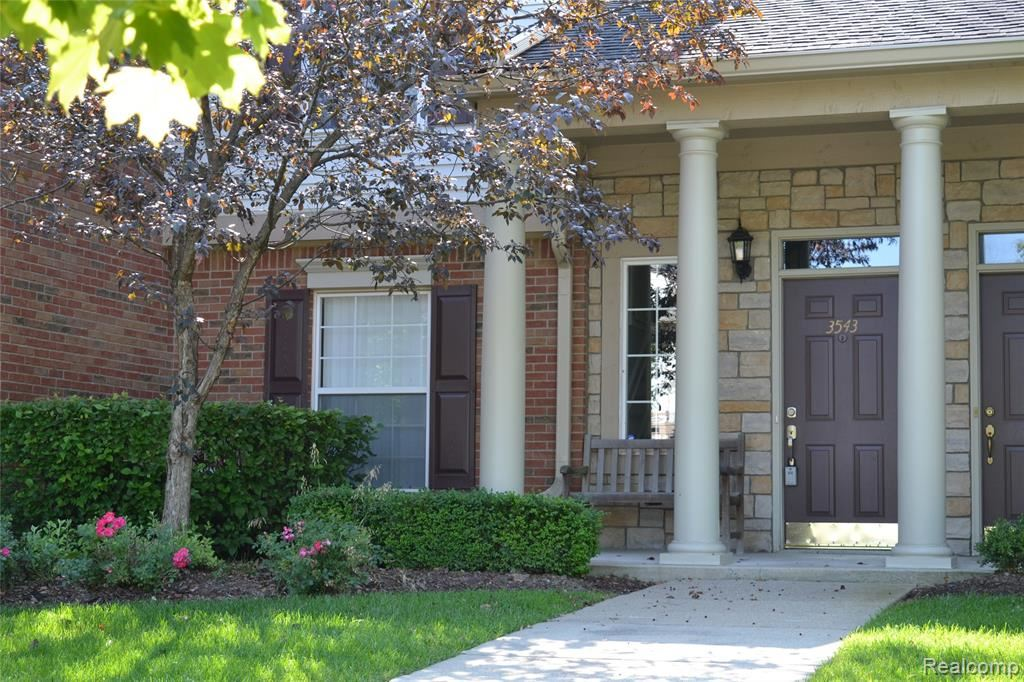 Photo for 3543 TREMONTE Circle S, Oakland Township, MI 48306 (MLS # 219079578)