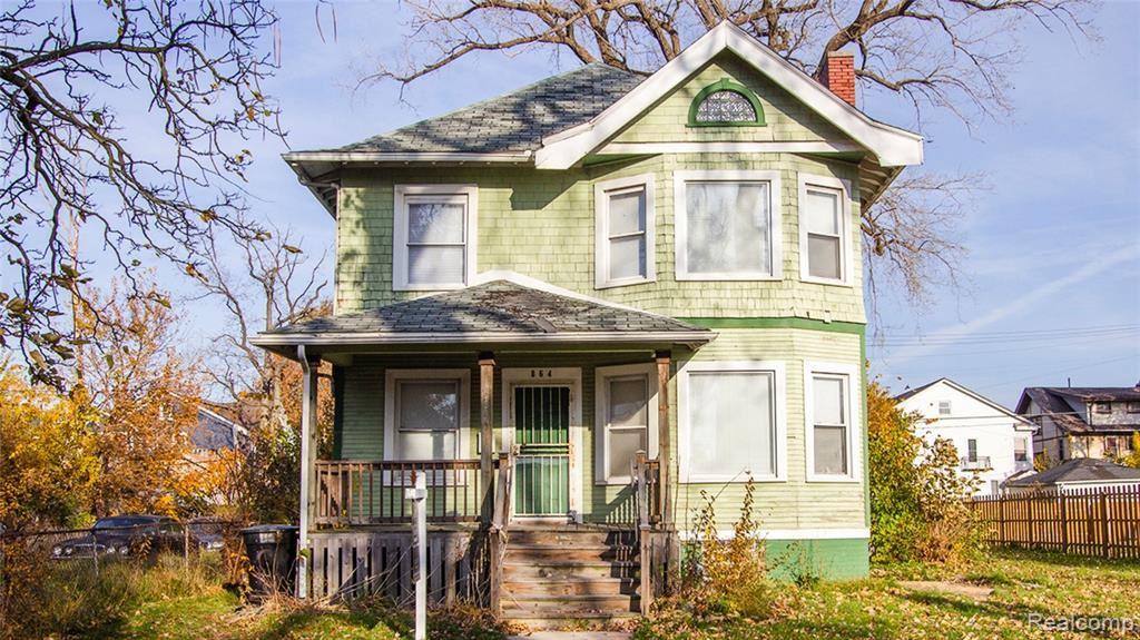 864 Hazelwood Street, Detroit, MI 48202 - MLS#: 2200090629