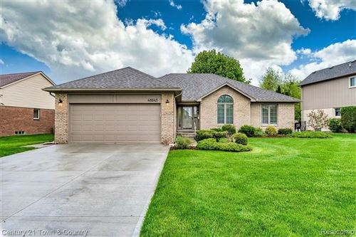 Photo of 48845 Valley Forge Drive, Macomb Township, MI 48044 (MLS # 2200034672)