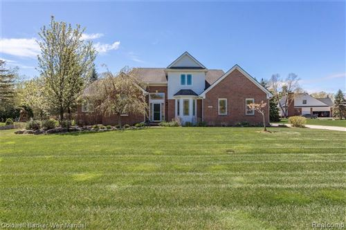 Photo of 8356 BROOKSTONE Lane, Independence Township, MI 48348 (MLS # 2200036719)