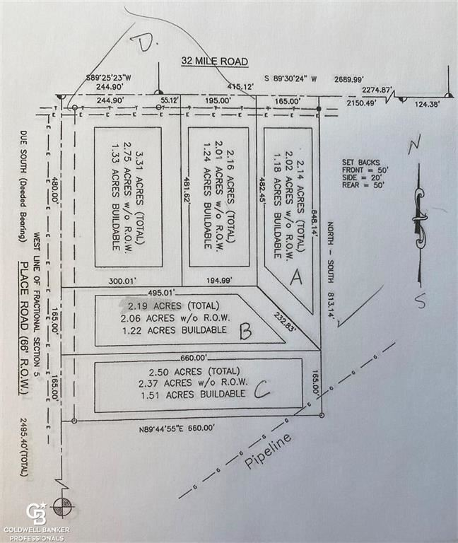 "Photo of 00 PLACE RD. PARCEL""B"", LENOX, MI 48040 (MLS # 58050037725)"