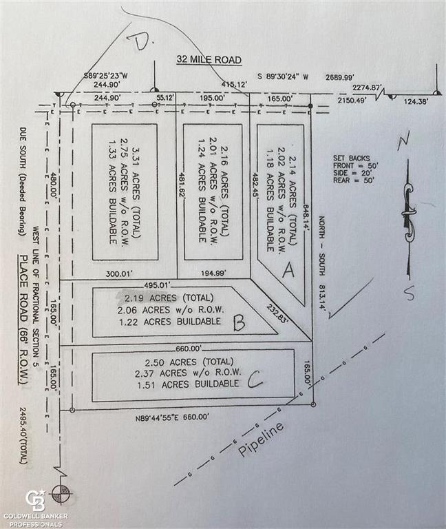 """Photo of 00 PLACE RD. PARCEL""""C', LENOX, MI 48040 (MLS # 58050037730)"""