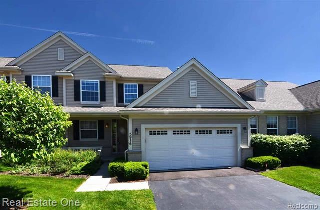 Photo for 5916 Baypointe Boulevard #67, Independence Township, MI 48346 (MLS # 219054772)