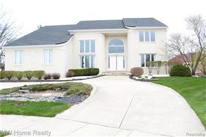 Photo of 3545 GRANDVIEW Court, Shelby Township, MI 48316 (MLS # 219059785)