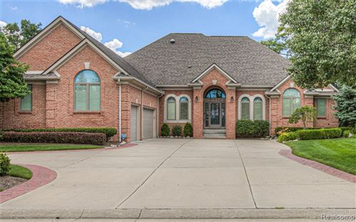 Photo for 37545 BELLAGIO Court, Clinton Township, MI 48036 (MLS # 2200085788)