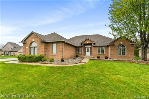 Photo of 16921 Olivia Drive, Macomb Township, MI 48042 (MLS # 2200032843)