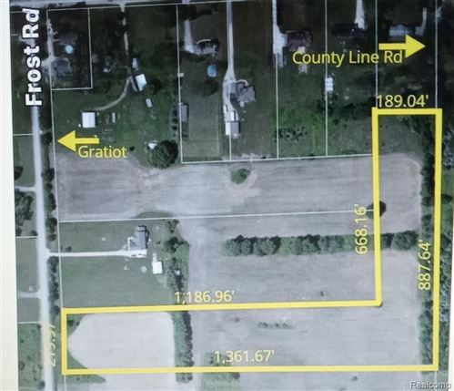 Photo of 0 FROST, Lenox Township, MI 48048 (MLS # 2210024924)