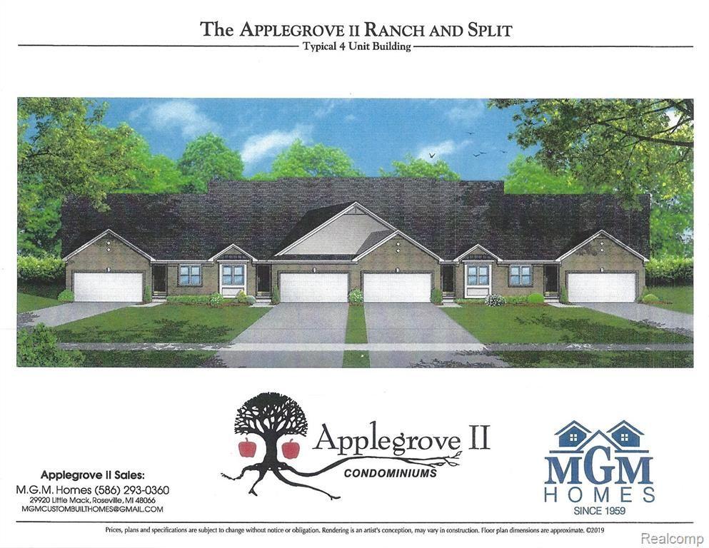 48270 Applegrove Lane #20, Chesterfield Township, MI 48051 - MLS#: 2210010997