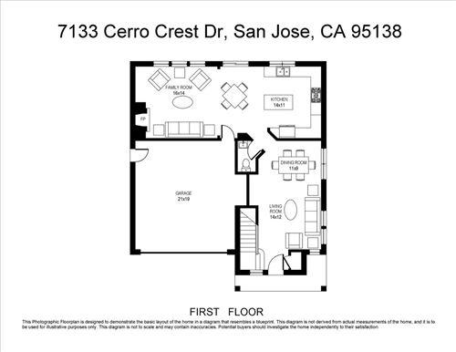 Tiny photo for 7133 Cerro Crest DR, SAN JOSE, CA 95138 (MLS # ML81804003)