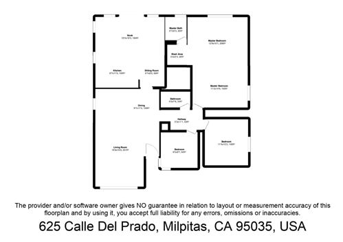 Tiny photo for 625 Calle Del Prado, MILPITAS, CA 95035 (MLS # ML81854024)