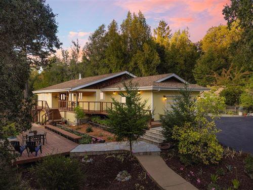 Photo of 185 Buck Knoll Road, BOULDER CREEK, CA 95006 (MLS # ML81863039)
