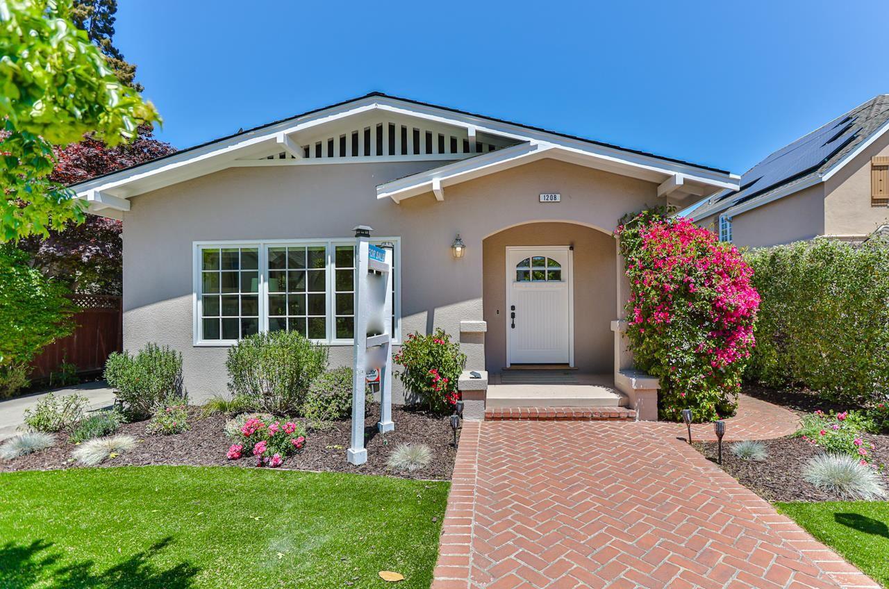 Photo for 1208 Cabrillo Avenue, BURLINGAME, CA 94010 (MLS # ML81845045)
