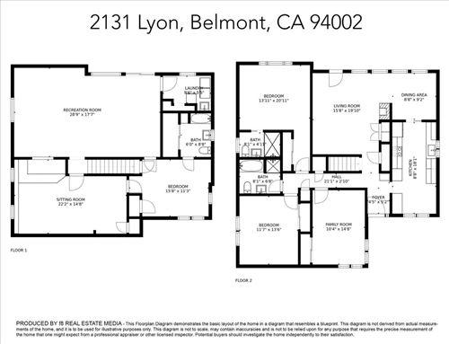 Tiny photo for 2131 Lyon AVE, BELMONT, CA 94002 (MLS # ML81820053)