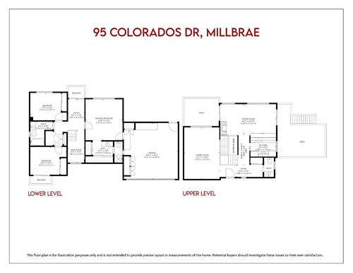 Tiny photo for 95 Colorados Drive, MILLBRAE, CA 94030 (MLS # ML81838083)