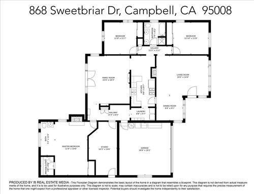 Tiny photo for 868 Sweetbriar Drive, CAMPBELL, CA 95008 (MLS # ML81847083)
