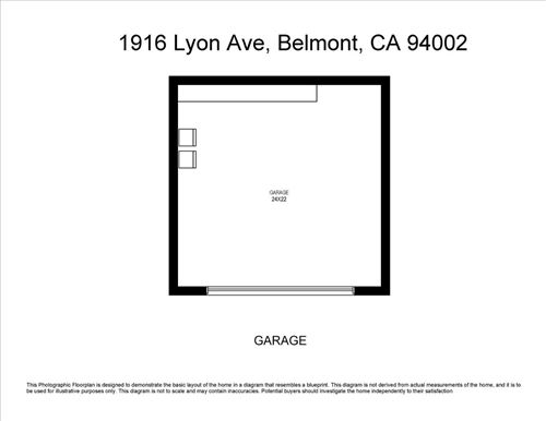 Tiny photo for 1916 Lyon AVE, BELMONT, CA 94002 (MLS # ML81806097)