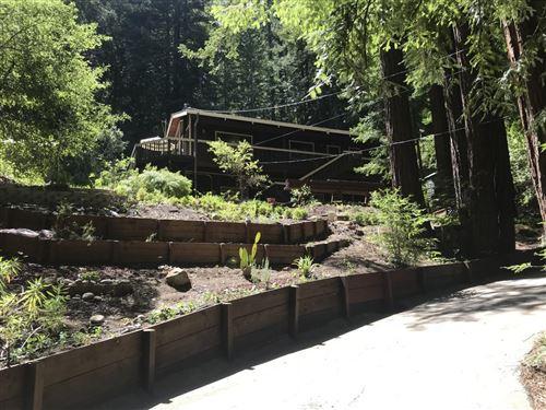 Photo of 340 Logan Creek RD, BOULDER CREEK, CA 95006 (MLS # ML81828117)