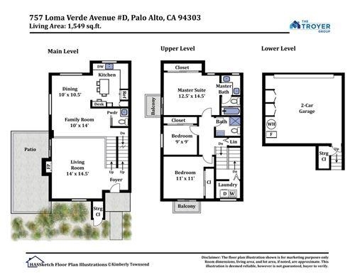 Tiny photo for 757 Loma Verde AVE D #D, PALO ALTO, CA 94303 (MLS # ML81829118)