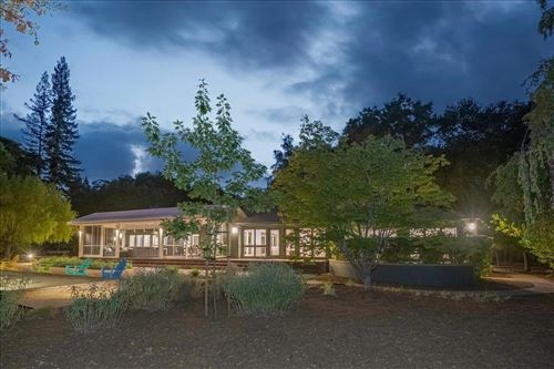 Photo of 3 Creek Park Drive, PORTOLA VALLEY, CA 94028 (MLS # ML81864126)