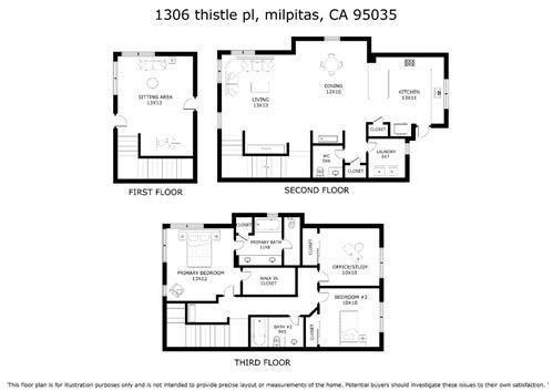 Tiny photo for 1306 Thistle PL, MILPITAS, CA 95035 (MLS # ML81836163)