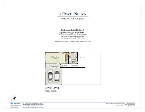 Tiny photo for 4 Corte Nueva, MILLBRAE, CA 94030 (MLS # ML81862163)