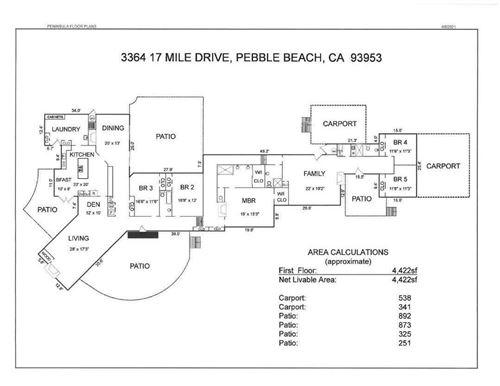 Tiny photo for 3364 17 Mile Drive, PEBBLE BEACH, CA 93953 (MLS # ML81842180)