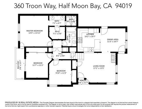 Tiny photo for 360 Troon Way, HALF MOON BAY, CA 94019 (MLS # ML81865235)
