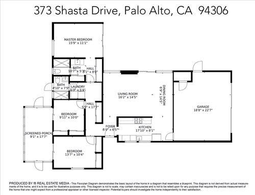 Tiny photo for 373 Shasta Drive, PALO ALTO, CA 94306 (MLS # ML81866292)