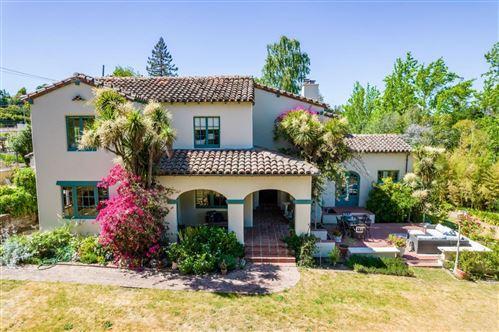Photo of 1010 San Raymundo Road, HILLSBOROUGH, CA 94010 (MLS # ML81843307)