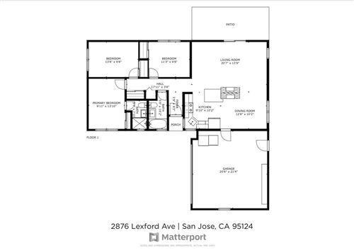 Tiny photo for 2876 Lexford Avenue, SAN JOSE, CA 95124 (MLS # ML81848334)