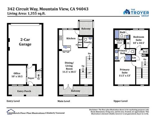 Tiny photo for 342 Circuit Way, MOUNTAIN VIEW, CA 94043 (MLS # ML81857352)