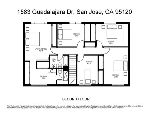Tiny photo for 1583 Guadalajara DR, SAN JOSE, CA 95120 (MLS # ML81810394)