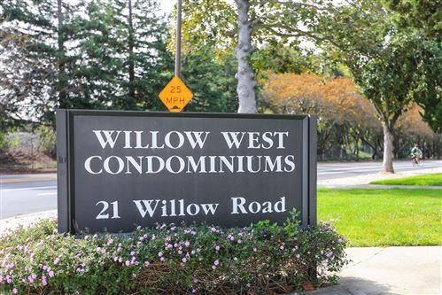 Photo of 21 Willow Road #33, MENLO PARK, CA 94025 (MLS # ML81859402)