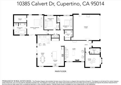 Tiny photo for 10385 Calvert Drive, CUPERTINO, CA 95014 (MLS # ML81859453)