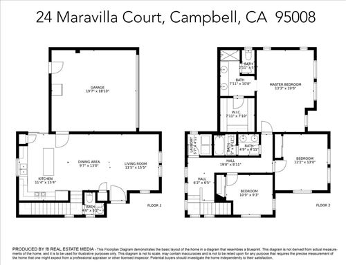 Tiny photo for 24 Maravilla CT, CAMPBELL, CA 95008 (MLS # ML81828470)