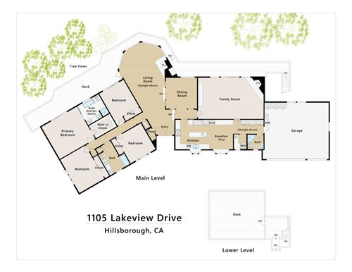 Tiny photo for 1105 Lakeview DR, HILLSBOROUGH, CA 94010 (MLS # ML81830484)