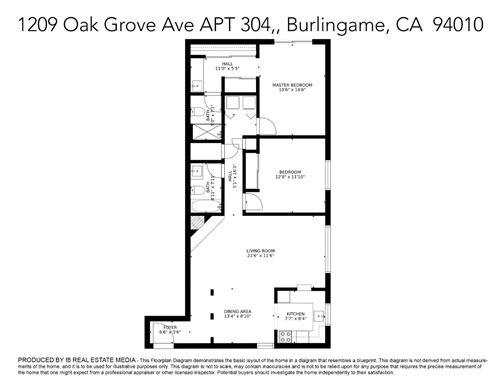 Tiny photo for 1209 Oak Grove Avenue #304, BURLINGAME, CA 94010 (MLS # ML81845531)
