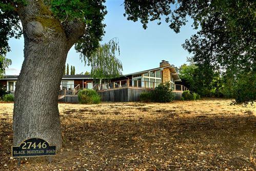 Photo of 27446 Black Mountain Road, LOS ALTOS HILLS, CA 94022 (MLS # ML81850532)
