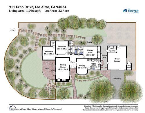 Tiny photo for 911 Echo DR, LOS ALTOS, CA 94024 (MLS # ML81808556)