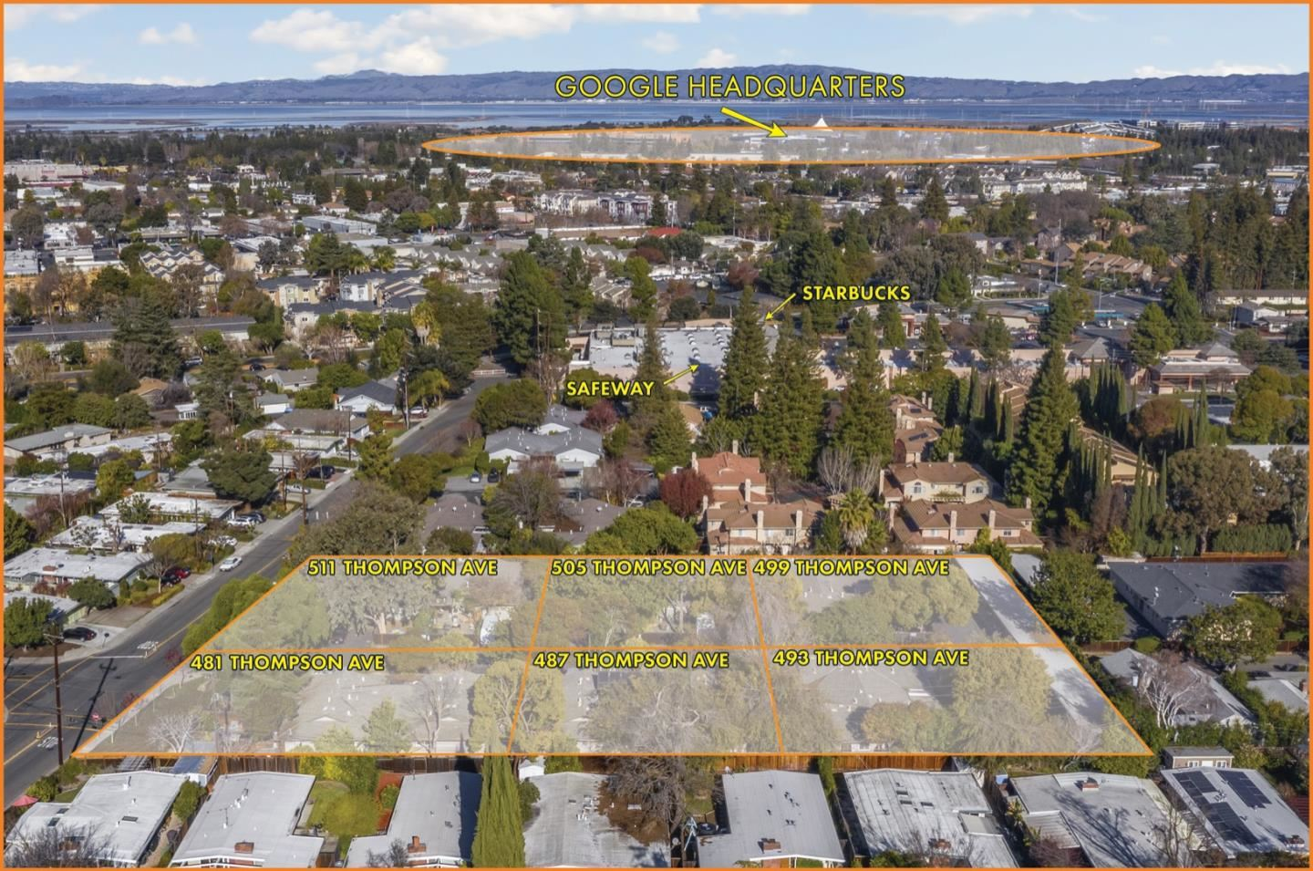 Photo for 481-511 Thompson AVE, MOUNTAIN VIEW, CA 94043 (MLS # ML81825575)