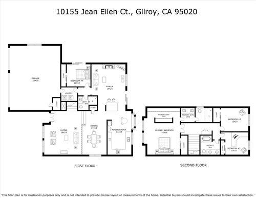 Tiny photo for 10155 Jean Ellen CT, GILROY, CA 95020 (MLS # ML81820610)